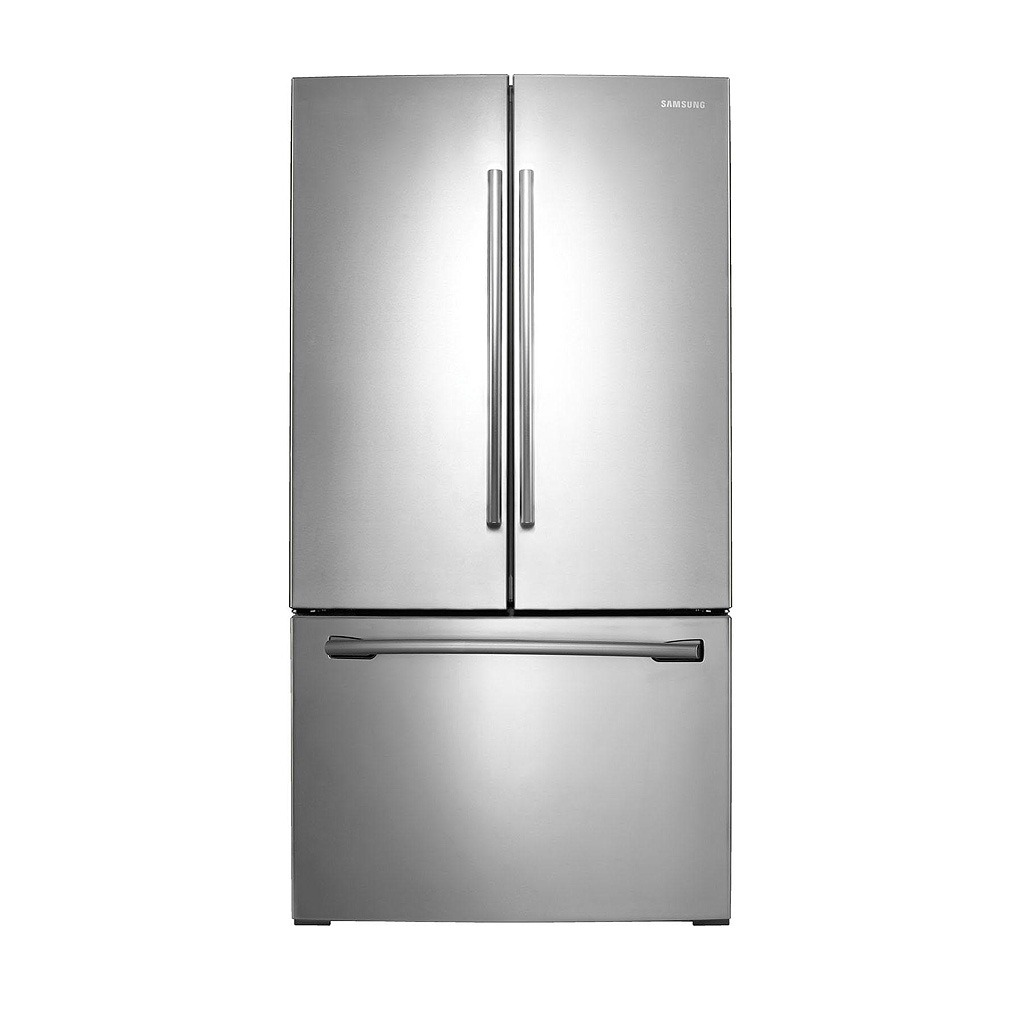 Samsung 25.6 cu.ft. Stainless Steel French Door Refrigerator with Internal Water Dispenser - RF261BEAESR