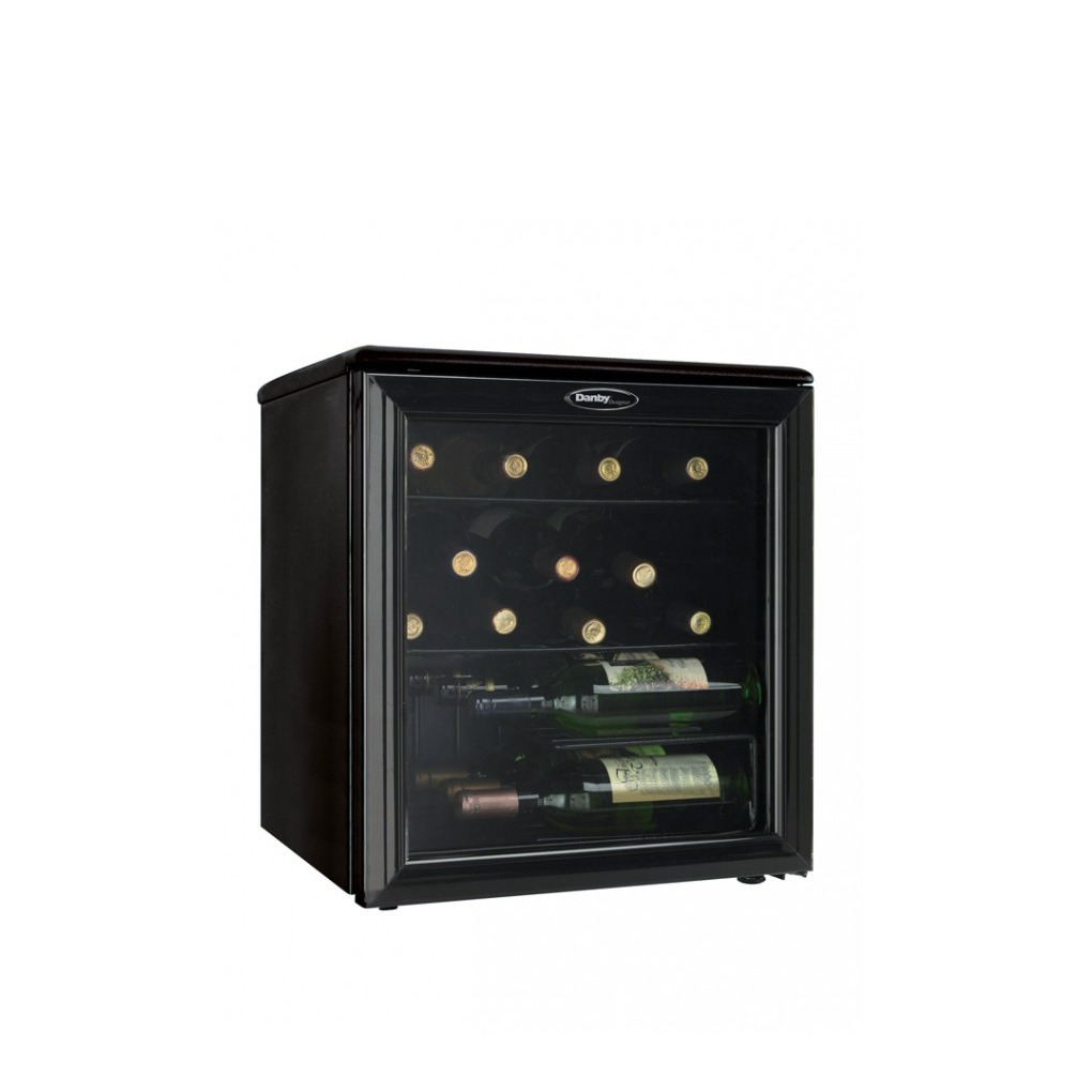 Danby Designer 17 Bottle Wine Cooler Dwc172bl Mtc