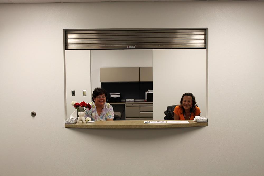 receptionwindow  MT Clinic