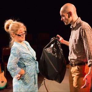 Deanna Moffitt and Dave Belden in BOY SMALL, directed by Patrick Kenney
