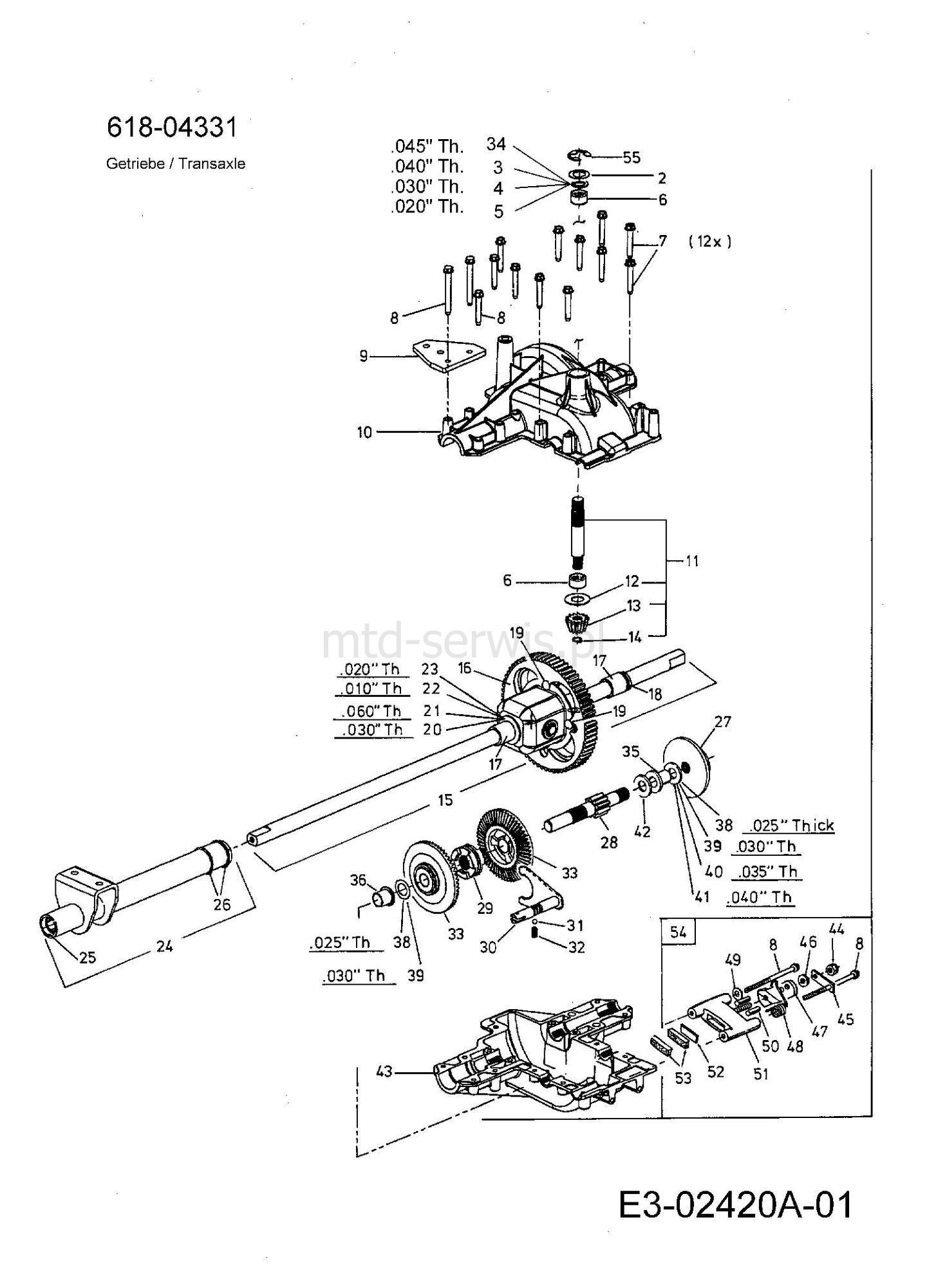 Bolens Mtd Bl 160 Manual