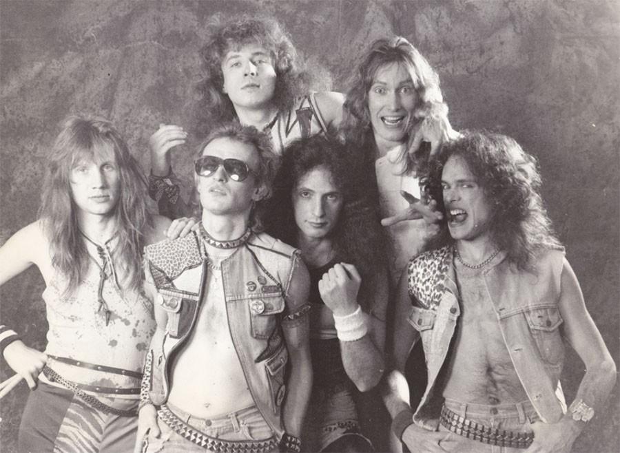 Группа «Мастер» образца 1987 года. Русские рок группы, самые популярные из них конца 80-х - начала 90-х