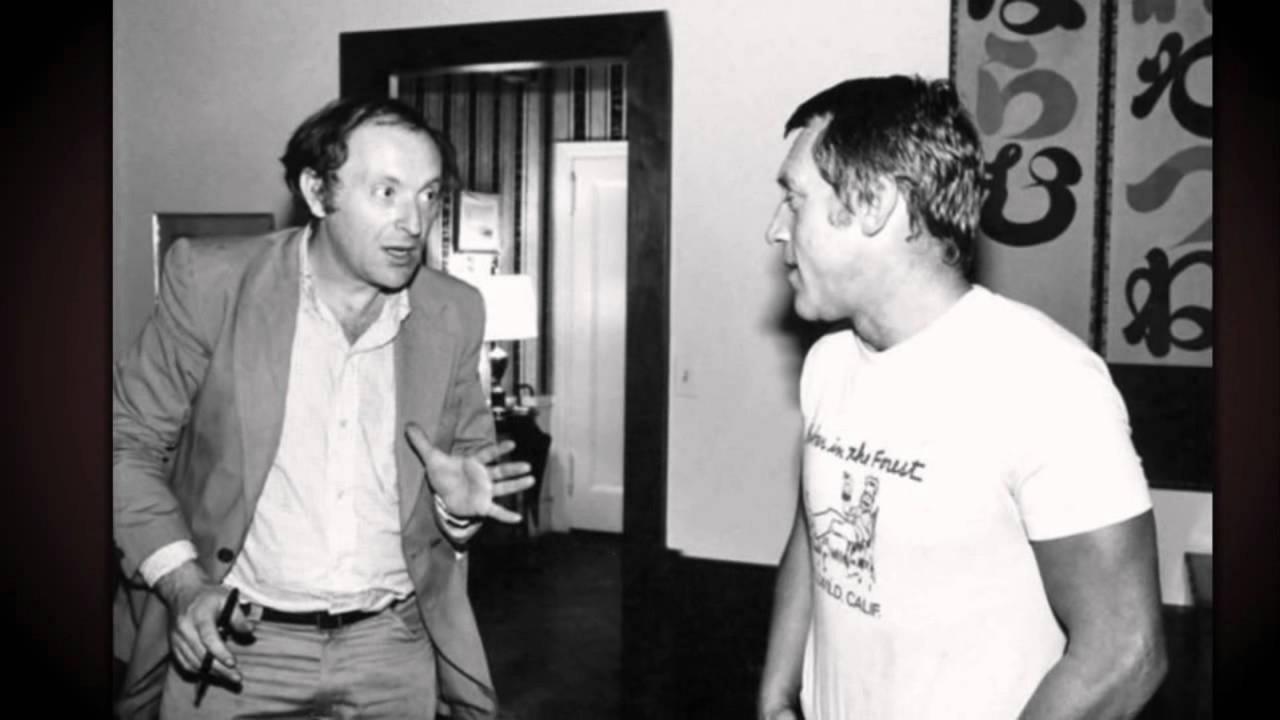 Иосиф Бродский и Владимир Высоцкий. Фото