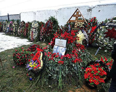 Могила Деда Хасана на Хованском кладбище