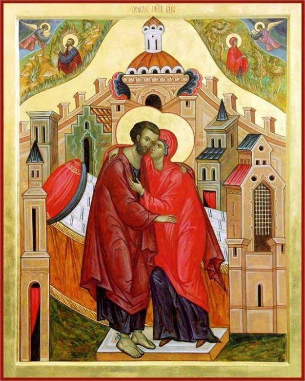 22 декабря - Зачатие праведной Анною Пресвятой Богородицы.