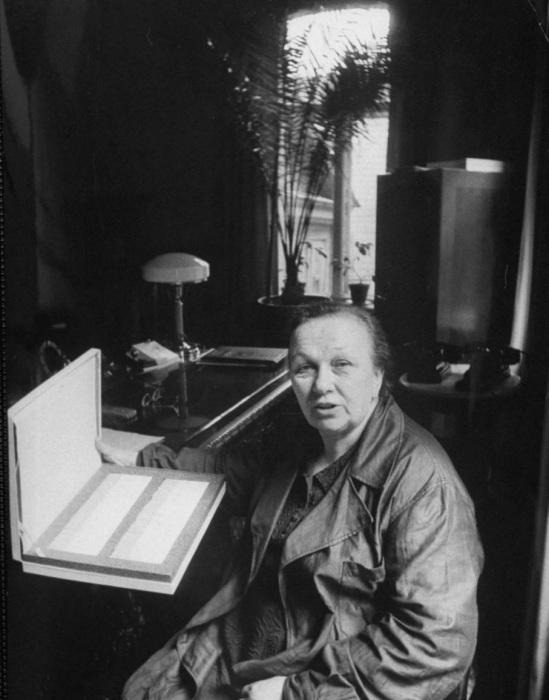 Директор табачной фабрики. СССР, Москва, 1956 год.