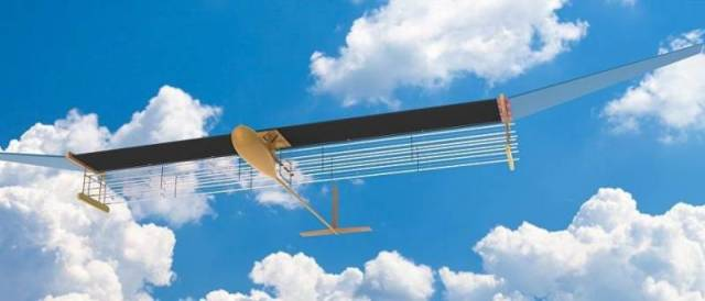 В США создан «ионный» самолёт