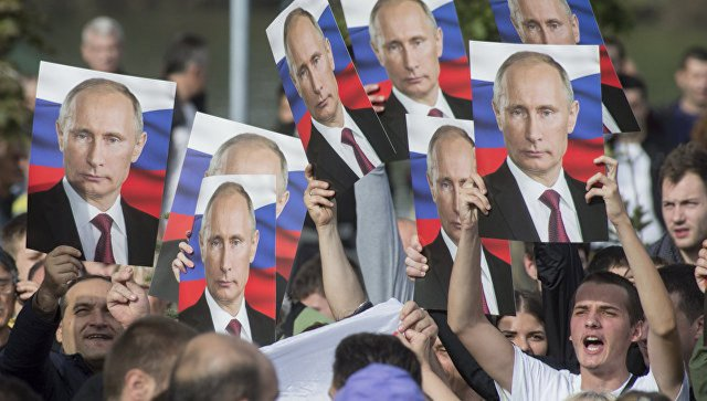 Победа Владимира Путина — победа всех граждан России. Руслан Осташко