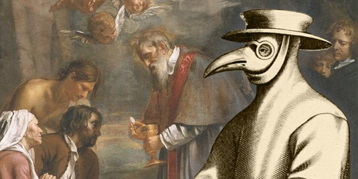Чумной доктор - символ горя и страдания. | Фото: thevintagenews.com.