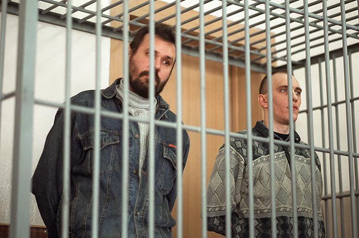 Александр Саломадин и Сергей Грузин. Основатели пирамиды «Русский дом Селенга», 1992−1994