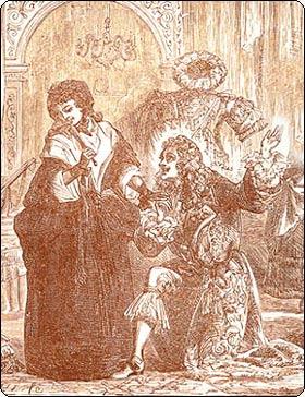 Нинон де Ланкло - знаменитая французская куртизанка.