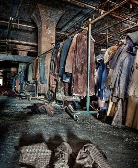 19. Фабрика одежды в братьев Lebow в Мэриленде бомбоубежище, заброшки, индастриал, интересно, фото