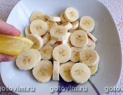 Творожно-банановый торт из печенья без выпечки, Шаг 01