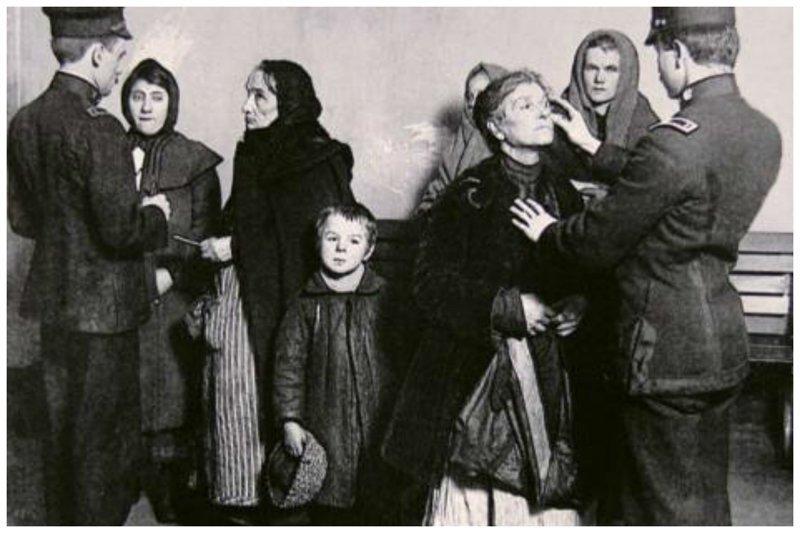 Заселение Америки, или иммигранты начала XX века в погоне за Американской мечтой америка, иммигранты, исторические фото, история, остров Эллис, факты