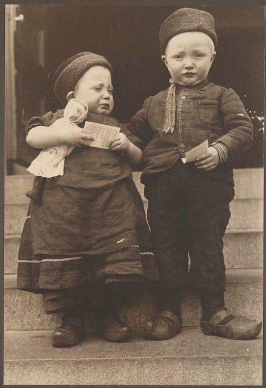 Дети из Нидерландов америка, иммигранты, исторические фото, история, остров Эллис, факты