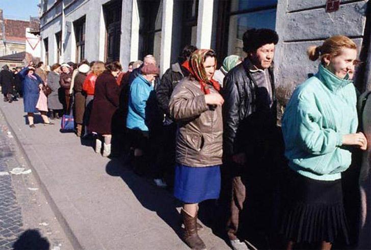 Советская торговля во всей своей красе