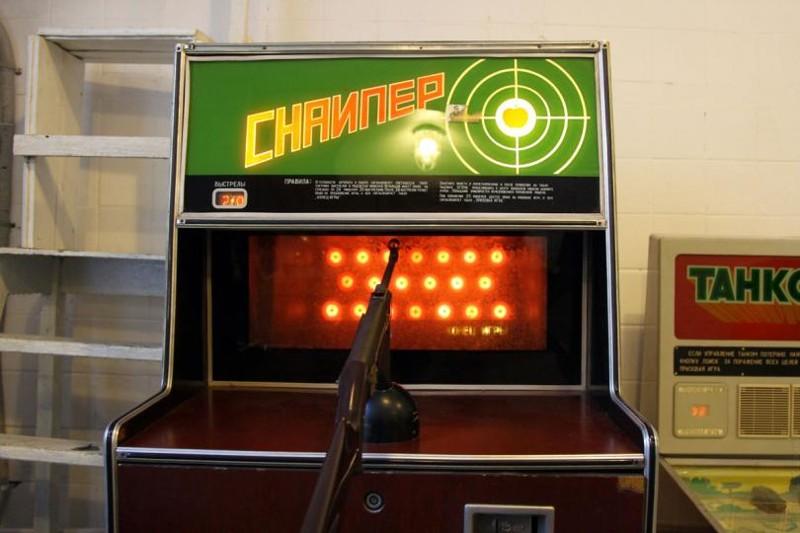 Снайпер Морской бой, СССР, игровые автоматы, игры