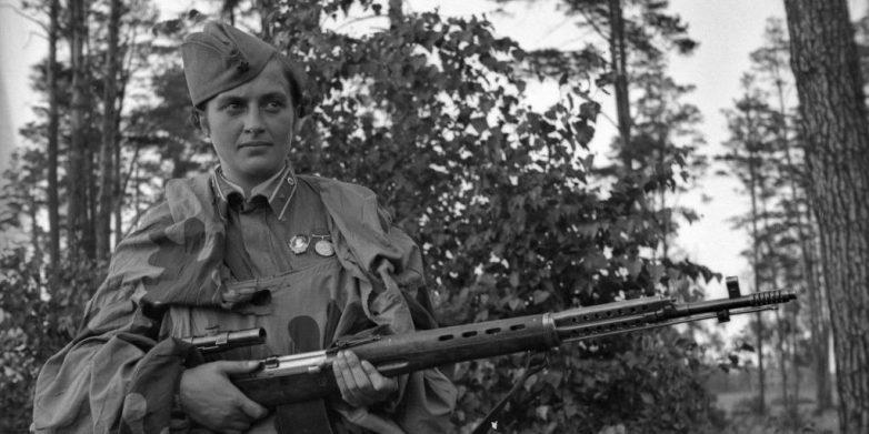 Воспоминания женщины-снайпера о Великой Отечественной
