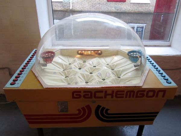 Баскетбол Морской бой, СССР, игровые автоматы, игры