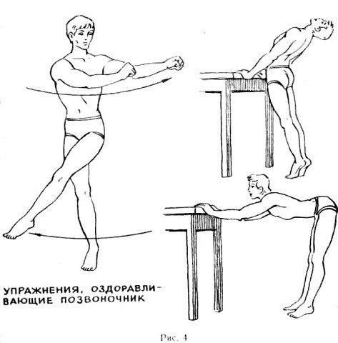 Упражнение, которое помогает бороться с отложением солей в позвоночнике