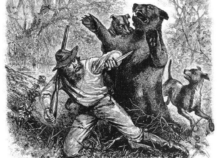 Хью Гласс - реальная история человека, который сумел выжить в схватке с медведем (х/ф Выживший)