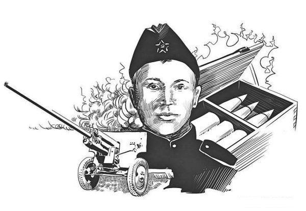 Андрей Корзун Велика Отечественная война, герои, победа