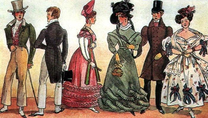 Быт женщин Европы в XVIII-XIX веках
