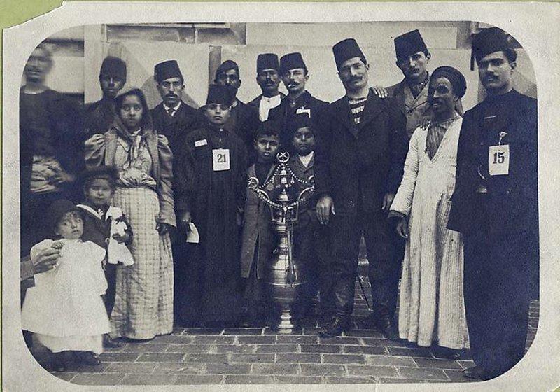 Группа мигрантов из Оттоманской Империи америка, иммигранты, исторические фото, история, остров Эллис, факты