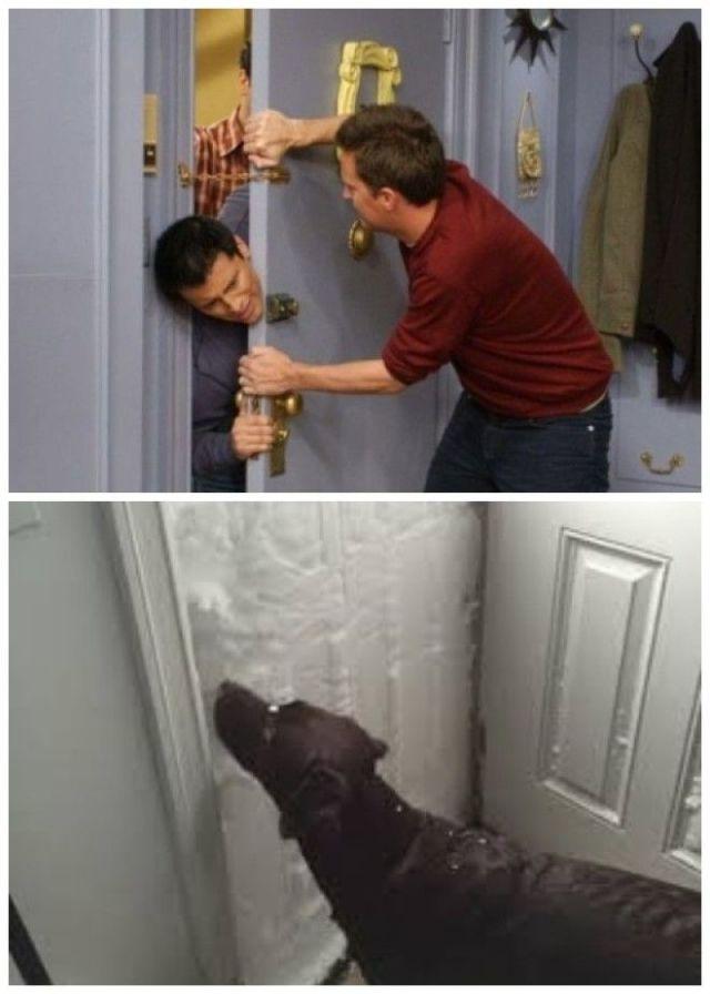 Возможные причины создания дверей открывающихся внутрь квартиры