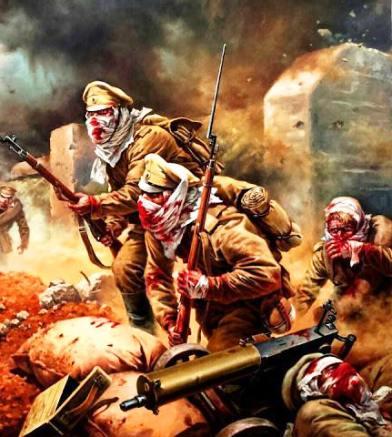«Русские не сдаются!» Маленький русский гарнизон стоял насмерть 190 дней
