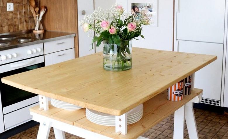 3 кухонных острова своими руками из IKEA