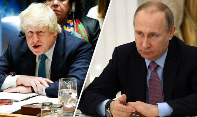 Александр Халдей: Как Владимир Путин отправил в отставку Бориса Джонсона