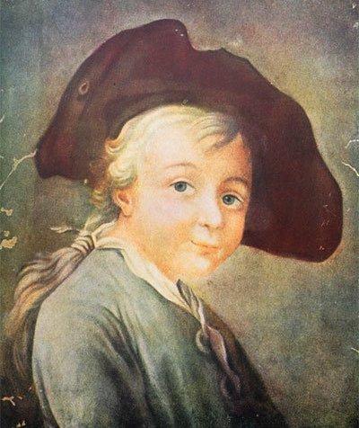 Неизвестный художник. Портрет А. В. Суворова в детстве