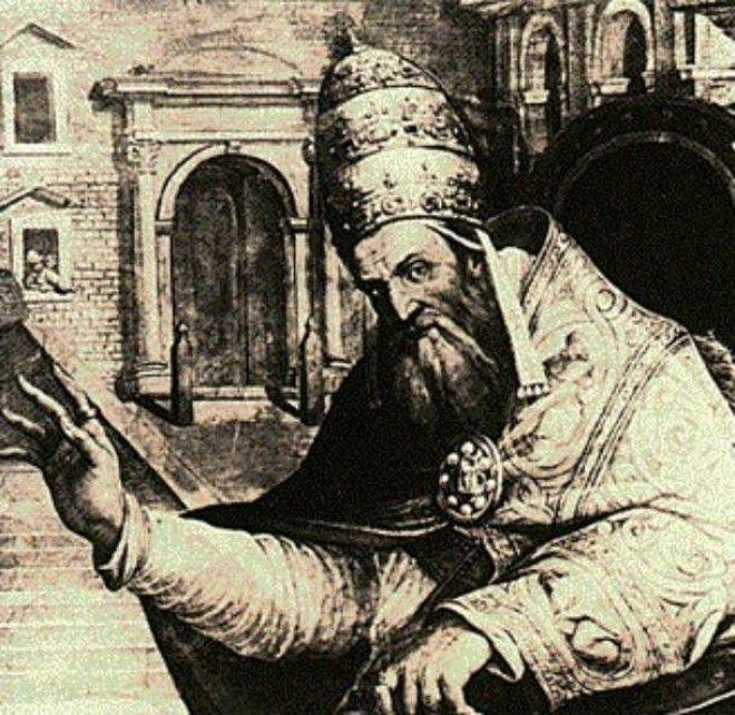 Кошки против Папы Григория животные, коты, факты