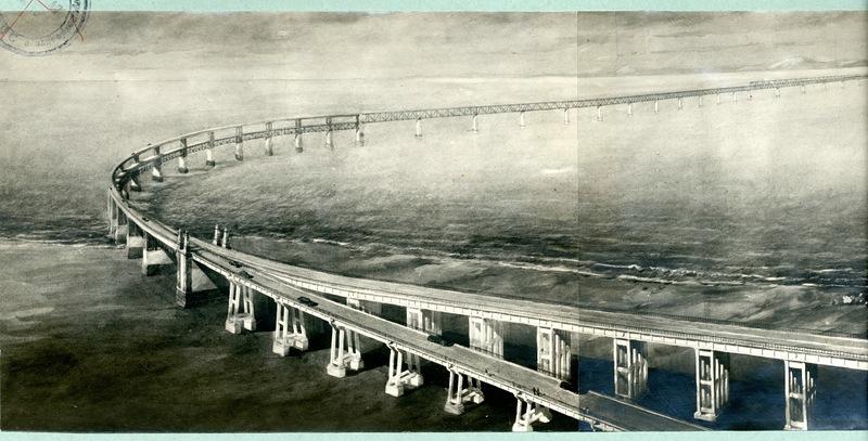 Сталинский проект Керченского моста 1949г