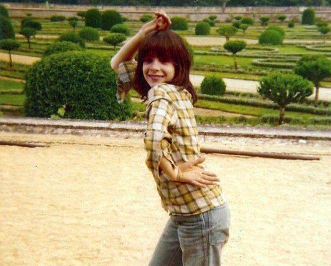 Милен Фармер в юности