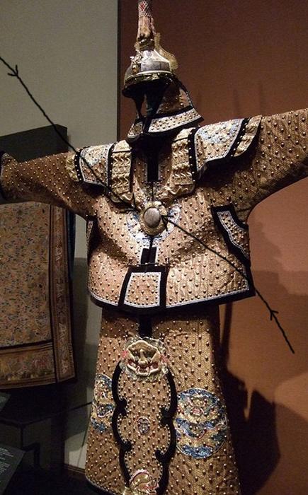 Парадная форма охраны императора династии Цин