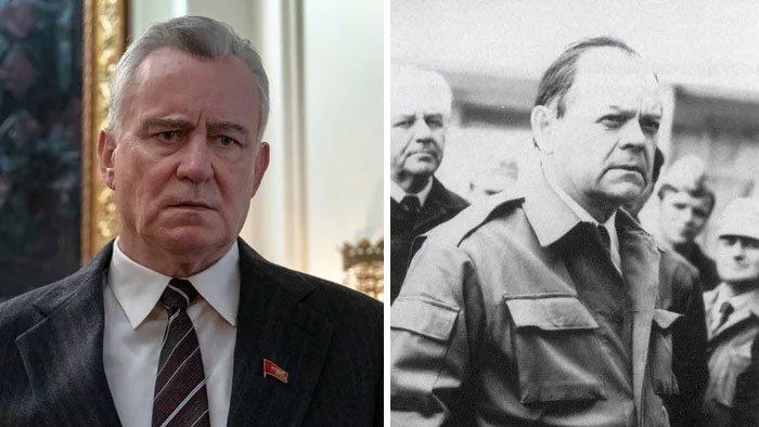 Стеллан Скарсгард и Борис Щербина, вице-премьер