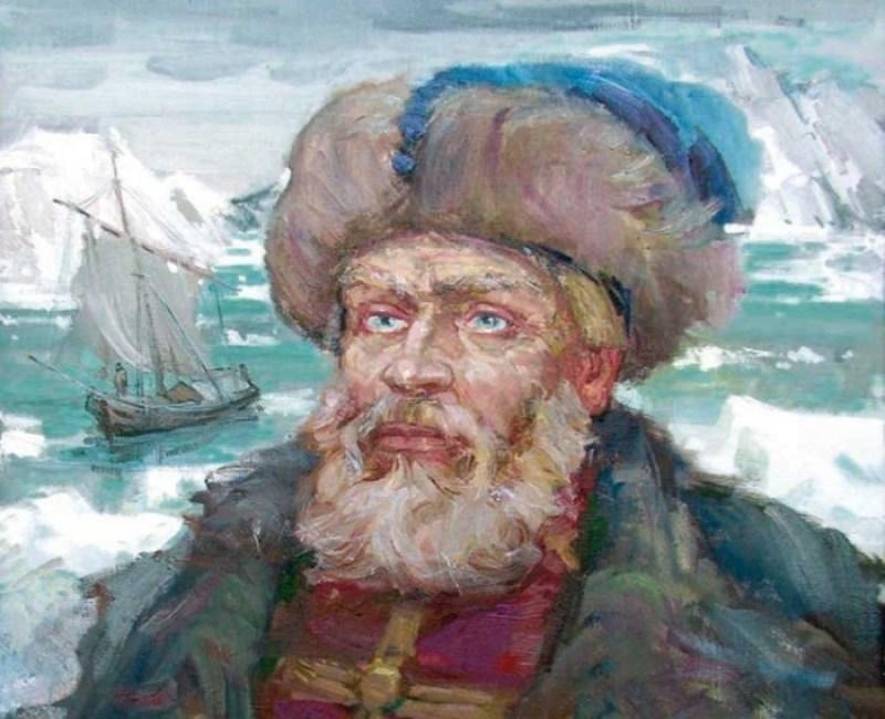 Русские путешественники в 15, 16, 17, 18, 19, веков. Семен Дежнев, основавший Анадырский острог