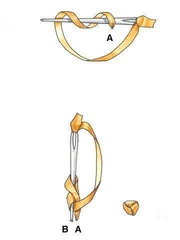 Φpaнцузский узелoк 5