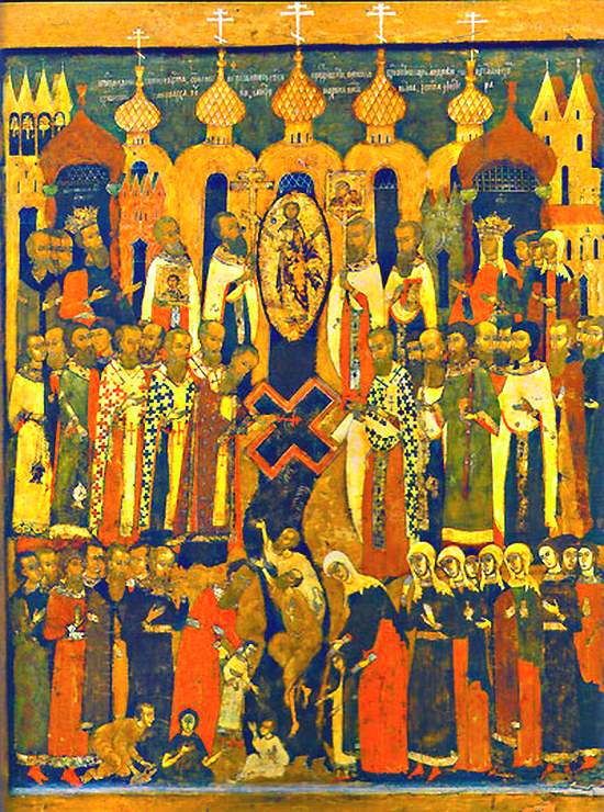 Икона Честного Животворящего Креста
