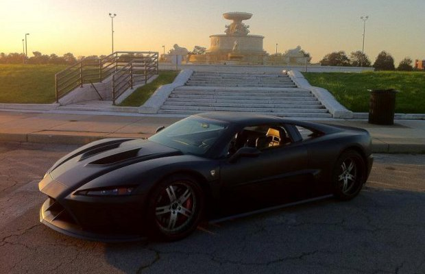 Десять потрясающих американских машин