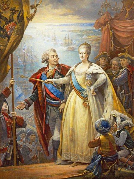 Всё о связи «Шальной императрицы» и Потёмкина