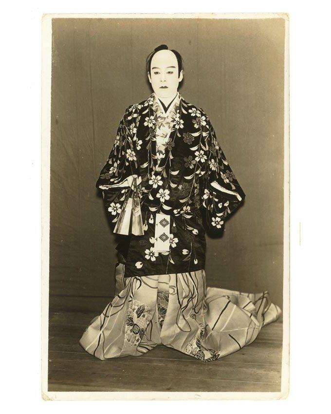 Первые гейши были мужчинами