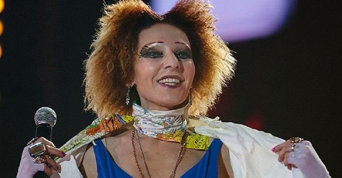 певица Жанна Агузарова
