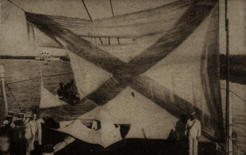 Экипаж не уронил честь флага. Цусима, интересное, история, крейсер «Аврора»