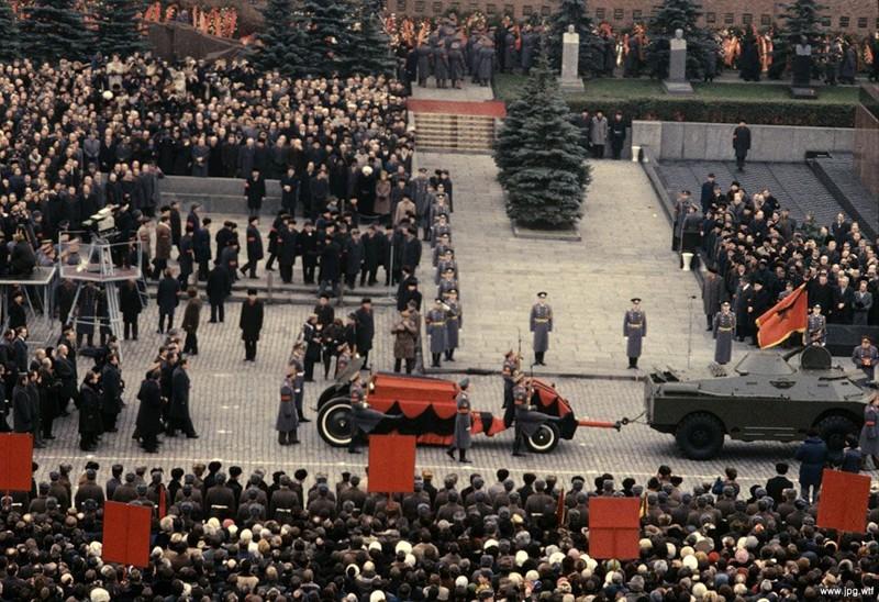 Похороны Леонида Брежнева, 15 ноября 1982 года, Москва история, события, фото