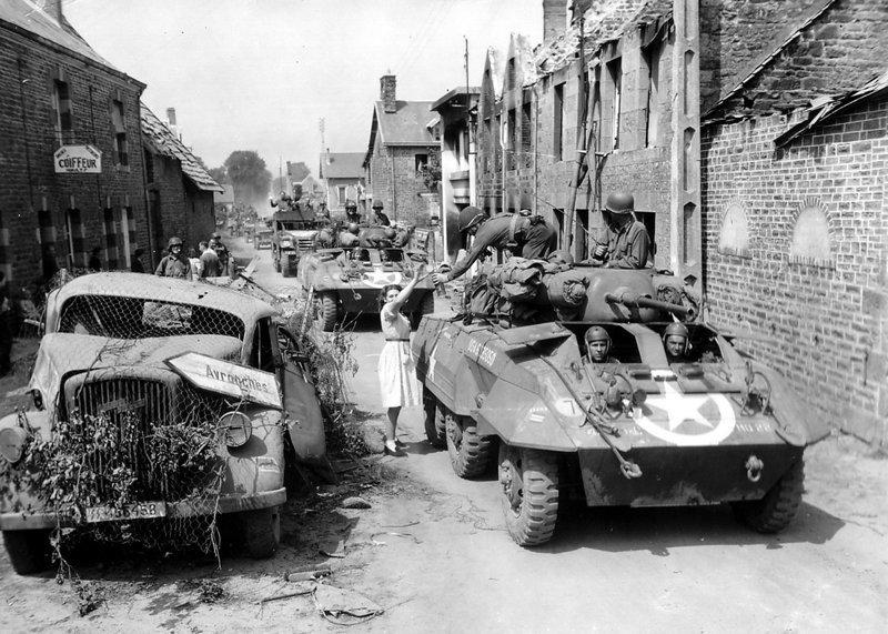 Исторические фотографии Нормандской операции война, история, нормандия, фото