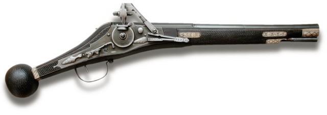 14. Колесцовый пистолет (только у высших офицеров) европа, история. оружие, ландскнехты