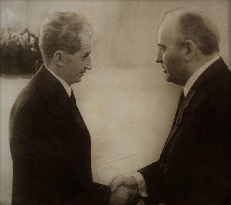 Румынский упрямец Николае Чаушеску, день в истории, румыния